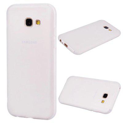 Ultra-thin Back Cover Solid Color Soft TPU Case for Samsung Galaxy A3 (2017)
