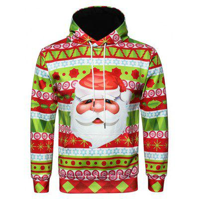 Christmas Sweatshirt Pullover Hoodie with Big Pocket