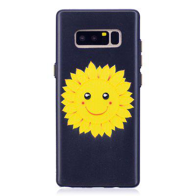 Embossed Smiley Pattern Phone Case for Samsung Galaxy Note 8