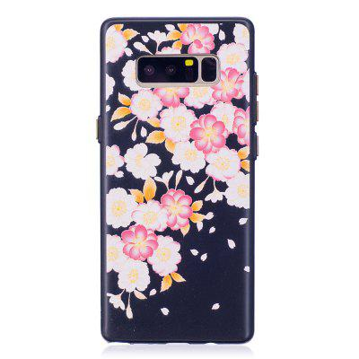 Embossed Flower Pattern Phone Case for Samsung Galaxy Note 8