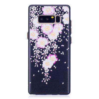 Embossed Petal Pattern Phone Case for Samsung Galaxy Note 8