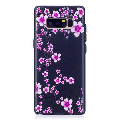 Embossed Plum Blossom Pattern Phone Case for Samsung Galaxy Note 8