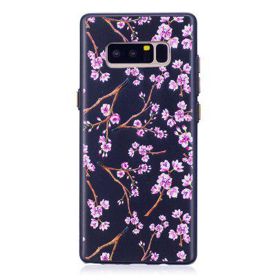 Embossed Peach Pattern Phone Case for Samsung Galaxy Note 8