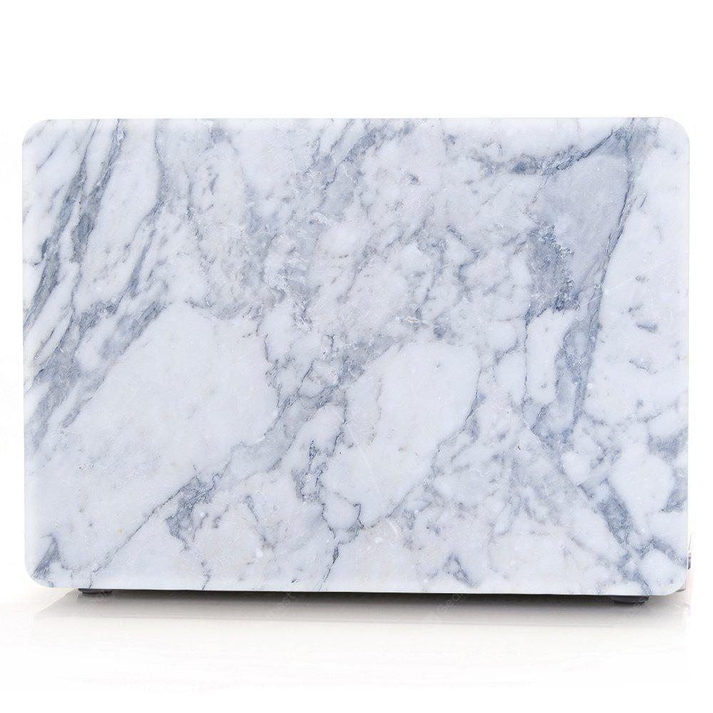 Computador Shell Laptop Case Keyboard Film para MacBook Pro 13,3 polegadas 3D Marble - Azul