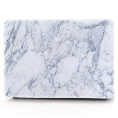 Computador Shell Laptop Case Keyboard Film para MacBook Retina 13,3 polegadas 3D Marble - Azul