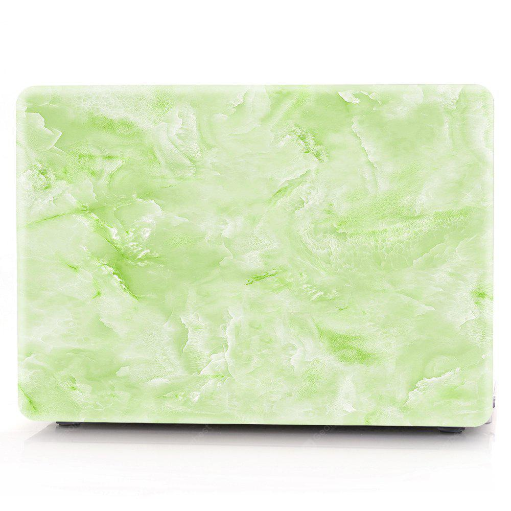 Computador Shell Laptop Case Keyboard Film para MacBook Retina 13,3 polegadas 3D Marble - Verde
