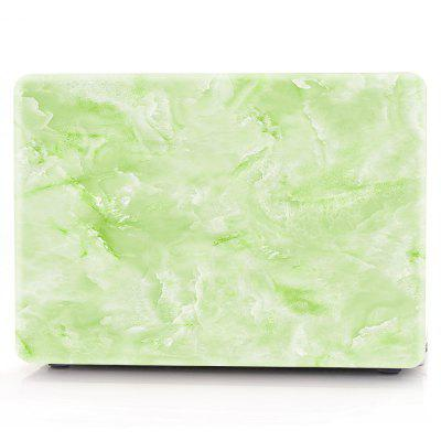 Computador Shell Laptop Case Keyboard Film para MacBook Pro 13,3 polegadas 3D Marble - Verde