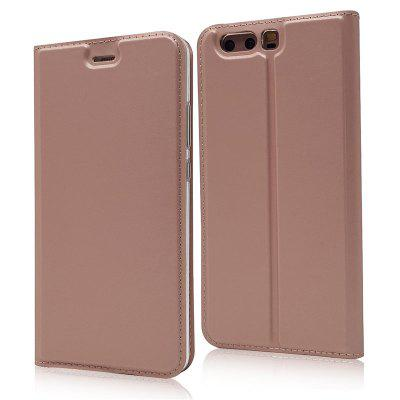 Ultra thin Flip Magnetic PU Leather Phone Cover for Huawei P10 Plus