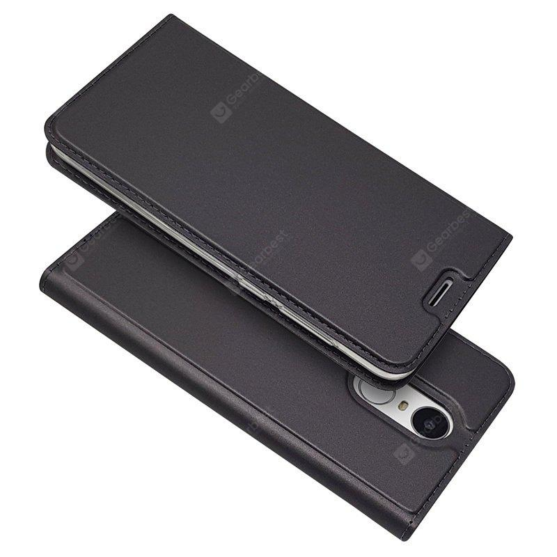 Ultra fino Flip Magnetic PU Leather Phone Cover para Huawei Enjoy 6