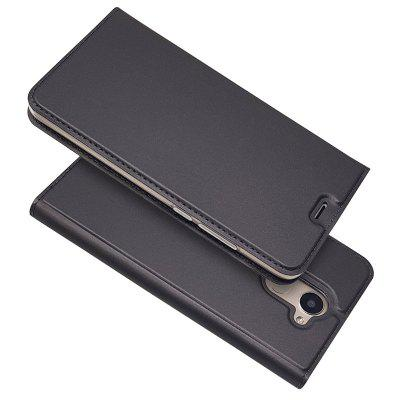 Ultra fino Flip Magnetic PU Leather Leather Cover para Huawei Enjoy 7Plus