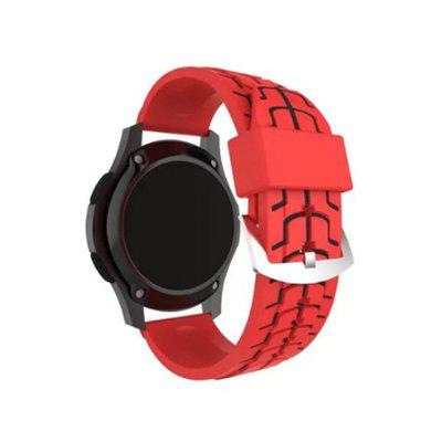 22mm Soft Silicone Replaceme Watch Band Strap For Samsung Gear S3 Classic / Frontier