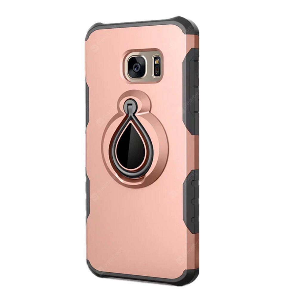 Finger Ring 360 Degree Stent Armor PC + TPU Protective Case Cover for Samsung Galaxy S7 Edge