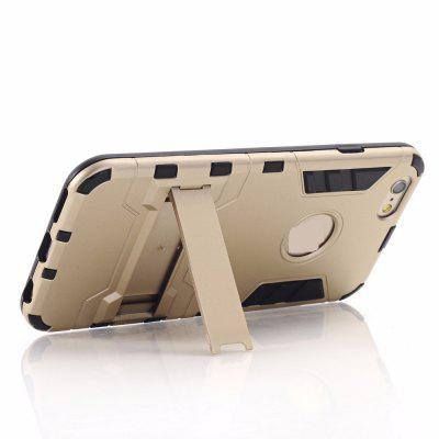 Buy Luxury Tough Shell Armor Case Dual Layer Hybrid Back Cover With Stand for iPhone 6 Plus / 6s Plus, GOLDEN, Mobile Phones, Apple Accessories, iPhone Accessories, iPhone Cases/Covers for $4.49 in GearBest store