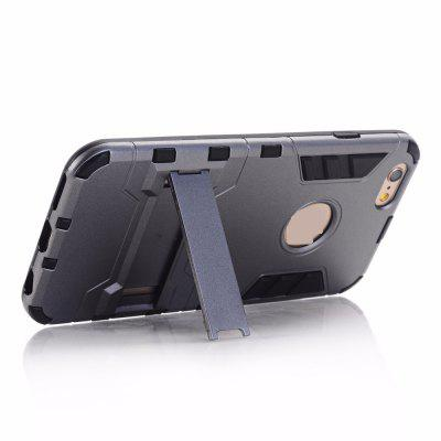 Buy Luxury Tough Shell Armor Case Dual Layer Hybrid Back Cover With Stand for iPhone 6 Plus / 6s Plus, GRAY, Mobile Phones, Apple Accessories, iPhone Accessories, iPhone Cases/Covers for $2.62 in GearBest store