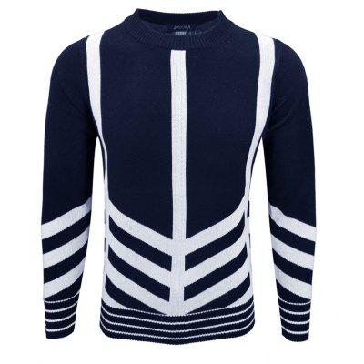 Men'S Hedging Sweater T-Ring Trendy Personality Primer Pullover