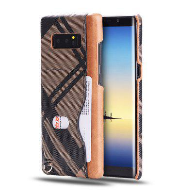Grid Seven Pattern PU Leather All Encompassing Case for Samsung Galaxy Note 8