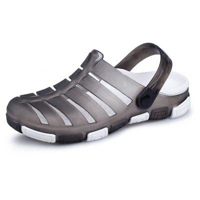 ZEACAVA Summer Outdoor Cave Leisure Male Sandals 40-44Mens Sandals<br>ZEACAVA Summer Outdoor Cave Leisure Male Sandals 40-44<br><br>Available Size: 40-44<br>Closure Type: Buckle Strap<br>Embellishment: None<br>Gender: For Men<br>Heel Hight: Ping<br>Occasion: Casual<br>Outsole Material: Rubber<br>Package Contents: 1 x Shoes (pair)<br>Pattern Type: Solid<br>Sandals Style: Slides<br>Style: Fashion<br>Upper Material: PU<br>Weight: 1.2000kg
