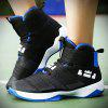 ZEACAVA Autumn and Winter Men's Casual Sports Basketball Shoes 36-45 Size - BLACK AND BLUE