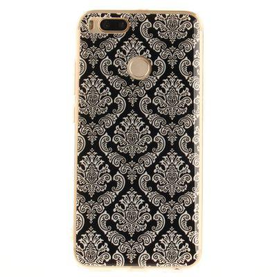 Pattern Totem Soft Clear IMD TPU Phone Casing Mobile Smartphone Cover Shell Case for Xiaomi Mi 5X