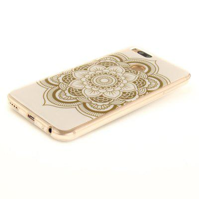 Big Flower Pattern Soft Clear IMD TPU Phone Casing Mobile Smartphone Cover Shell Case for Xiaomi Mi 5X for iphone 7 blue bell soft clear tpu phone casing mobile smartphone cover shell case