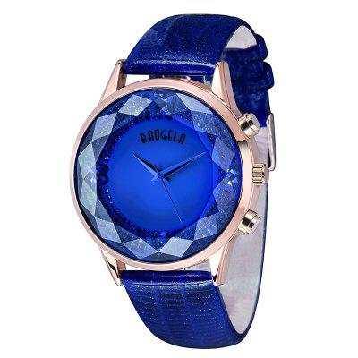 Baogela 1605 Women Fashion Quartz Genuine Leather Strap WristwatchesWomens Watches<br>Baogela 1605 Women Fashion Quartz Genuine Leather Strap Wristwatches<br><br>Available Color: Red,Blue,Purple<br>Band material: Genuine Leather<br>Band size: 24 x 2cm<br>Brand: BAOGELA<br>Case material: Alloy<br>Clasp type: Pin buckle<br>Dial size: 3.8 x 3.8 x 1cm<br>Display type: Analog<br>Movement type: Quartz watch<br>Package Contents: 1 x Watch , 1 x WatchBox, 1 x English Manual<br>Package size (L x W x H): 16.30 x 8.00 x 3.20 cm / 6.42 x 3.15 x 1.26 inches<br>Package weight: 0.1520 kg<br>Product size (L x W x H): 24.00 x 3.80 x 1.00 cm / 9.45 x 1.5 x 0.39 inches<br>Product weight: 0.0624 kg<br>Shape of the dial: Round<br>Watch mirror: Mineral glass<br>Watch style: Casual, Retro, Fashion<br>Watches categories: Women<br>Water resistance: Life water resistant<br>Wearable length: 18 - 22cm