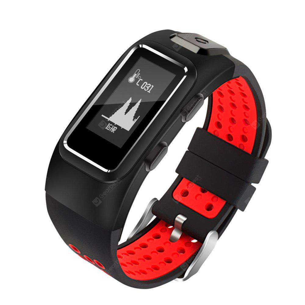 Star 8  GPS Smart Fitness Watch Activity Tracker Pedometer Surporting Swimming Sports Bracelet With Altitude Monitor Temperature Airpressure  Bluetooth 4.1 for Android IOS