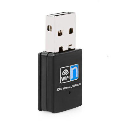V - XHT - 3506 Mini Wireless WiFi Adapter 300MBPS USB Network Lan Card 2.4GHZ Network Receiver 802.11N/B/G