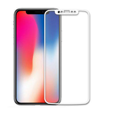 2.5D Full Cover Colorful Tempered Glass Screen Protector Film For iPhone X
