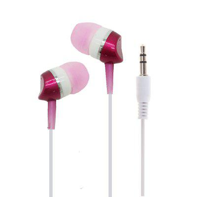 Portable Lightweight Wired In-Ear Earphone with 3.5MM Plug for Cell Phones