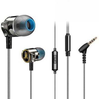 XY - D06 The High-end Zinc Alloy Bass in Mobile Phone Headset