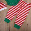 3Pcs Xmas Toddler Baby Boys Girls Top Romper Pants Leggings Outfits Clothes - GREEN