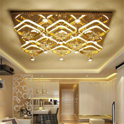 274W LED Ceiling Lamp Stepless Adjustable Light Cutting Process 220V