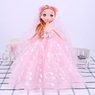 26CM Wedding Dress Doll Toy