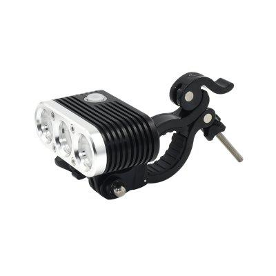 Wiz - XP3 Cree XM - L2 U3 Neutral White Led Bike Headlight 3 Flash Modes (Batteries Not Included)