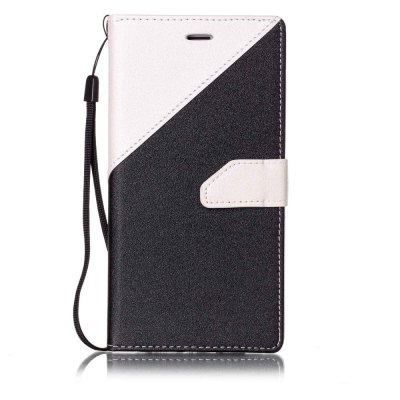 Color Stitching Leather Case for iPhone 8 Plus