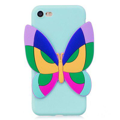 3D Sticked Butterfly Phone Protection Case for iPhone 8