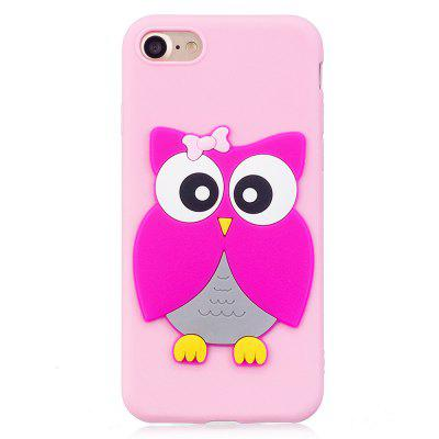 3D Owl Phone Protection Case for iPhone 8