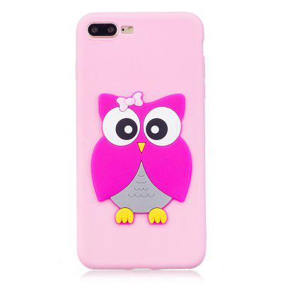 3D Owl Phone Protection Case for iPhone 8 Plus