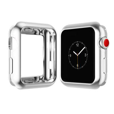 42mm TPU Protective Case for iWatch Series 3 / 2 / 1 Plating Cover Shell Bumper Case Protector