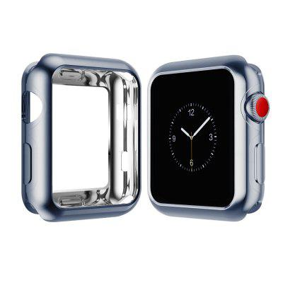 38mm TPU Protective Case for iWatch Series 3 / 2 / 1 Plating Cover Shell Bumper Case Protector