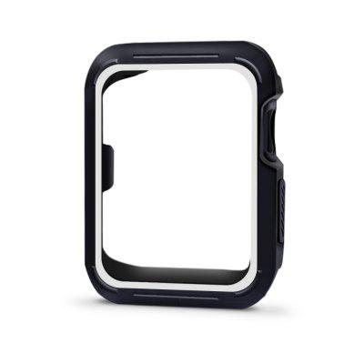 38mm Rugged Shock Proof iwatch Bumper Cover Scratch Resistant Screen Protector Case for iwatch Series 3 / 2 / 1