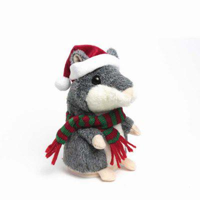 Talking Hamster Mouse Educational Toy Recording Repeats What You Say