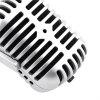Retro Notebook Computer Microphone Yanchor Singing Voice - SILVER