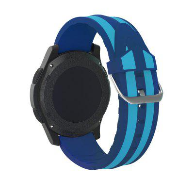 Double Stripe Silicone Band Replacement Bracelet Strap for Samsung Gear S3