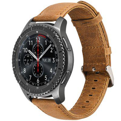 Genuine Leather Strap Watch Band for Samsung Gear S3 Classic / Frontie