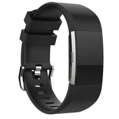 For Fitbit Charge 2 Silicone Watch Bands bracelet Smart Wristbands