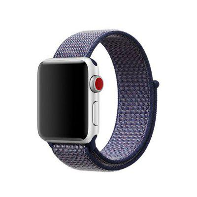 For Apple Watch Band Series 3 / 2 / 1 Fashion Woven Nylon Sport Loop Bracelet 38MM