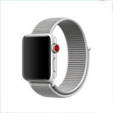 For Apple Watch Band Series 3 / 2 / 1 Fashion Woven Nylon Sport Loop Bracelet 42MM