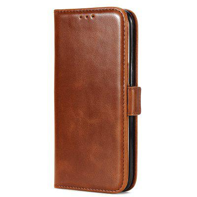High Grade Crazy Horse Double Fold Leather Case for Samsung Galaxy S7 Edge