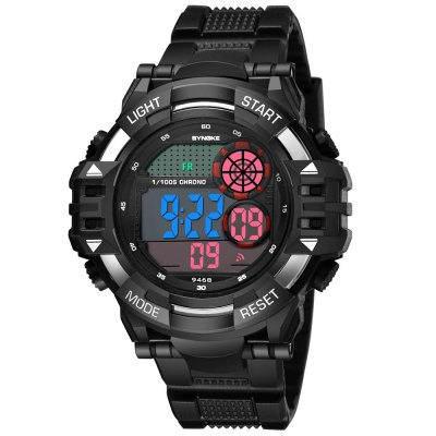 SYNOKE 9468 Outdoor Sports Multi-function Waterproof Climbing Man Electronic Watch